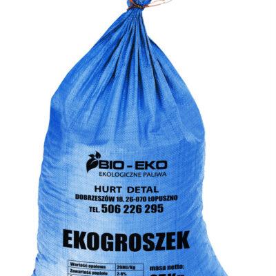 EKOGROSZEK o wartości opałowej 29 MJ/kg